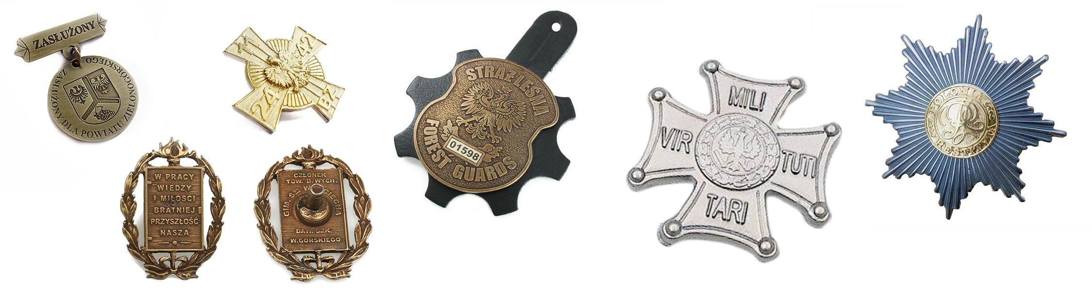 ARTAL odznaki z metalu